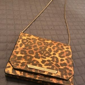 Rebecca Minkoff cheetah shoulder bag